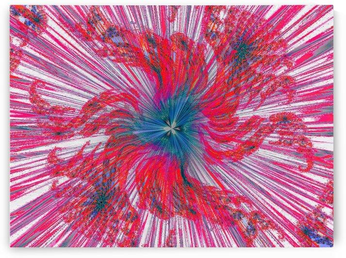 Wind Falling Flower 1 by Sherrie Larch