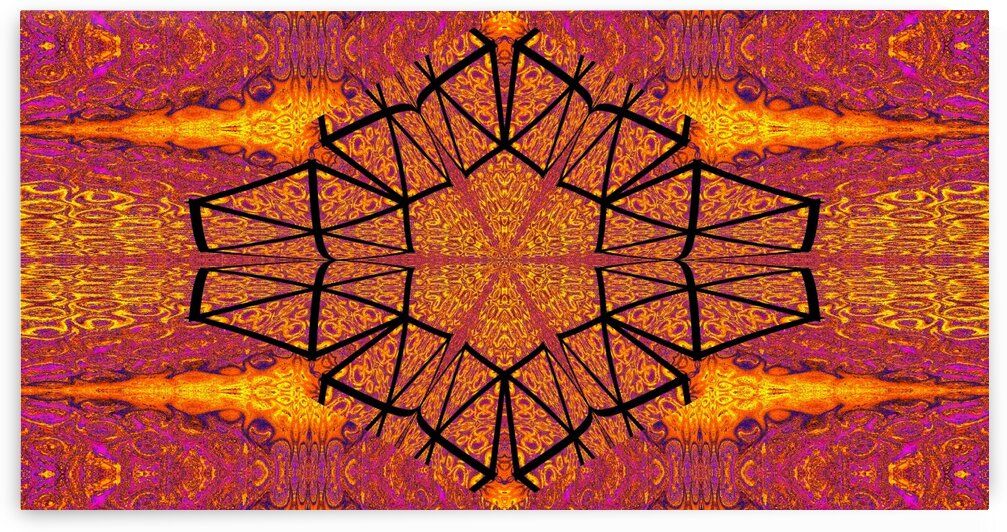 Fire Light Lotus by Sherrie Larch