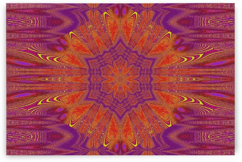 Lotus Of Orange by Sherrie Larch