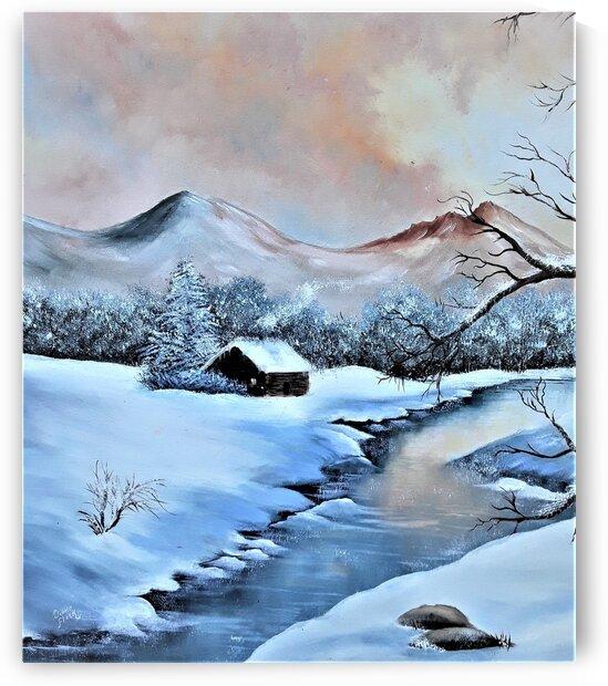 First Snow  by Debbie L Fleck
