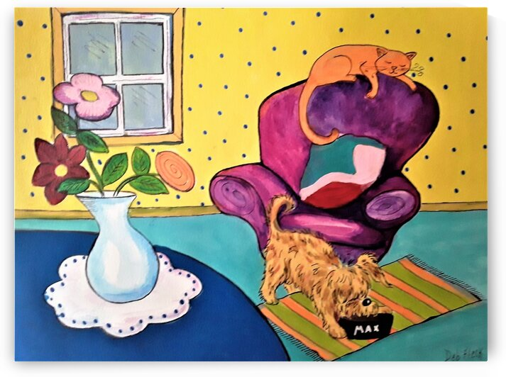 Just Relaxing by Debbie L Fleck