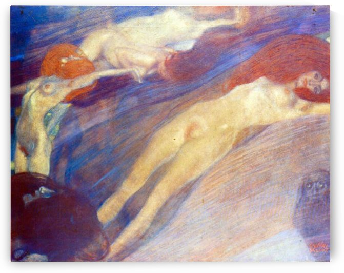 Moving water by Klimt by Klimt