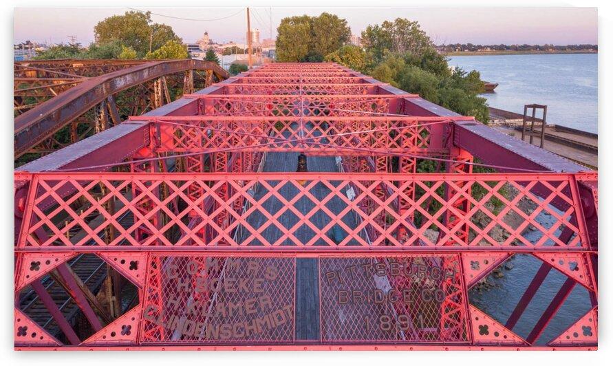bridge 3  by Tropo Aerial Photo