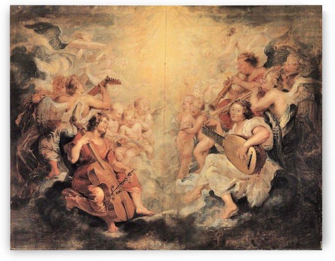 Musical Angel by Rubens by Rubens