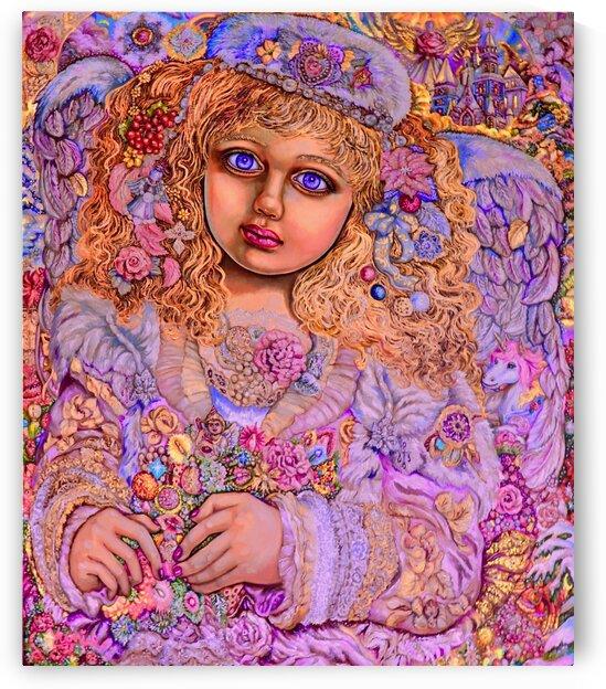 Yumi SugaiChristmas light angel. by Yumi Sugai