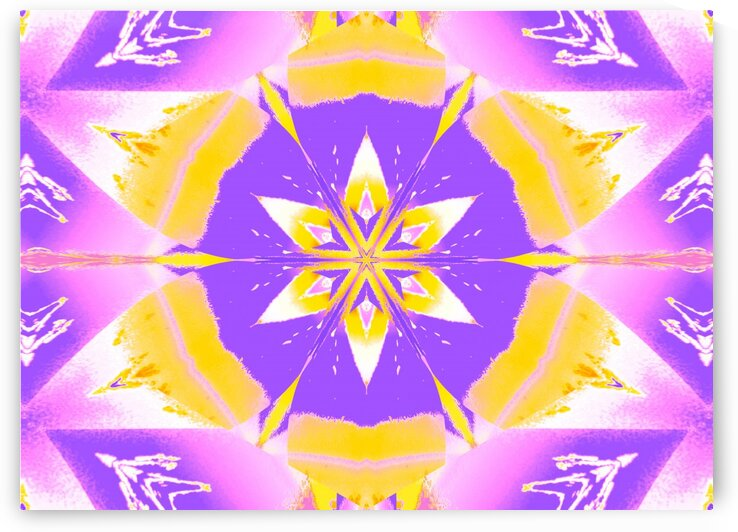 Yellow Light Lotus by Sherrie Larch