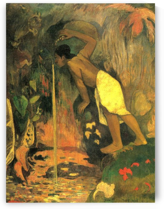 Mysterious Source by Gauguin by Gauguin