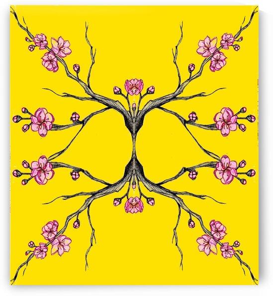 Tree pop yellow by Oletydraw