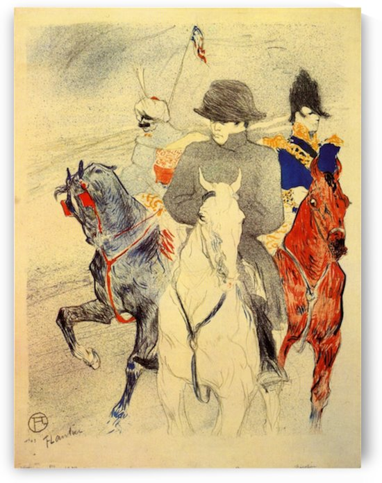 Napoleon 2 by Toulouse-Lautrec by Toulouse-Lautrec