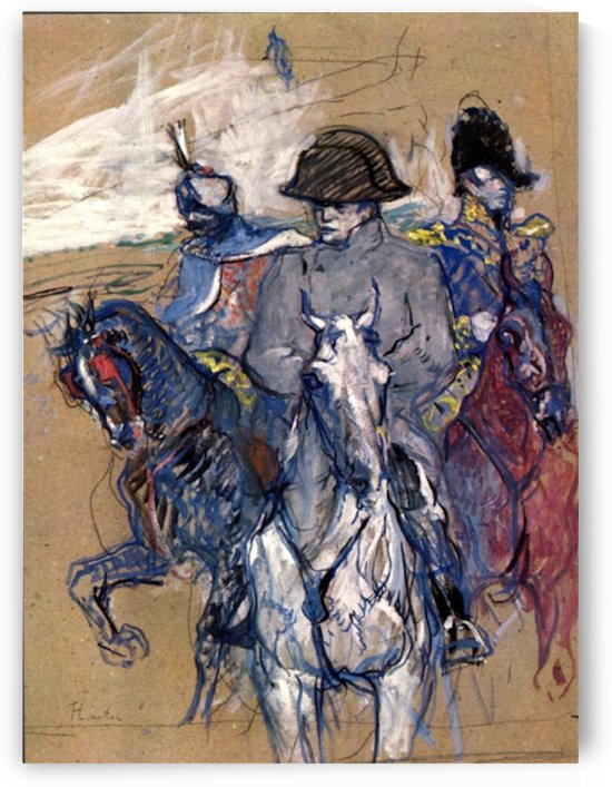 Napoleon by Toulouse-Lautrec by Toulouse-Lautrec