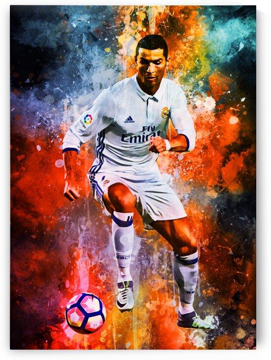Cristiano Ronaldo by Coolbits Artworks