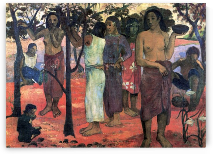 Nava Nava Mehana by Gauguin by Gauguin