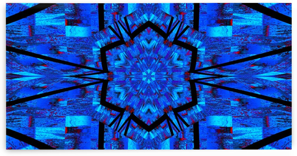 A Blue Lotus Inside by Sherrie Larch