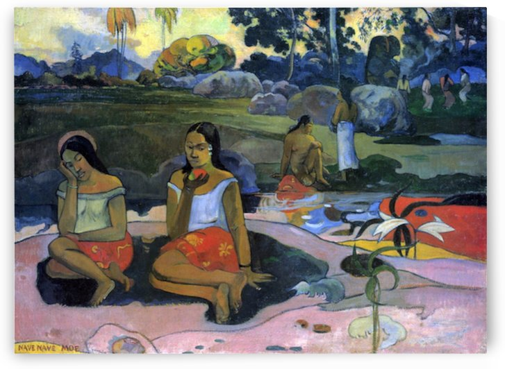 Nave Nave Moe by Gauguin by Gauguin