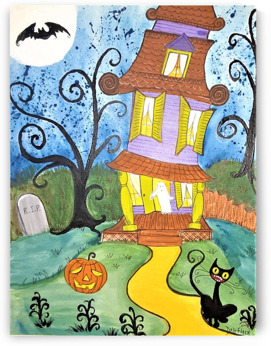 Spooktacular Night  by Debbie L Fleck