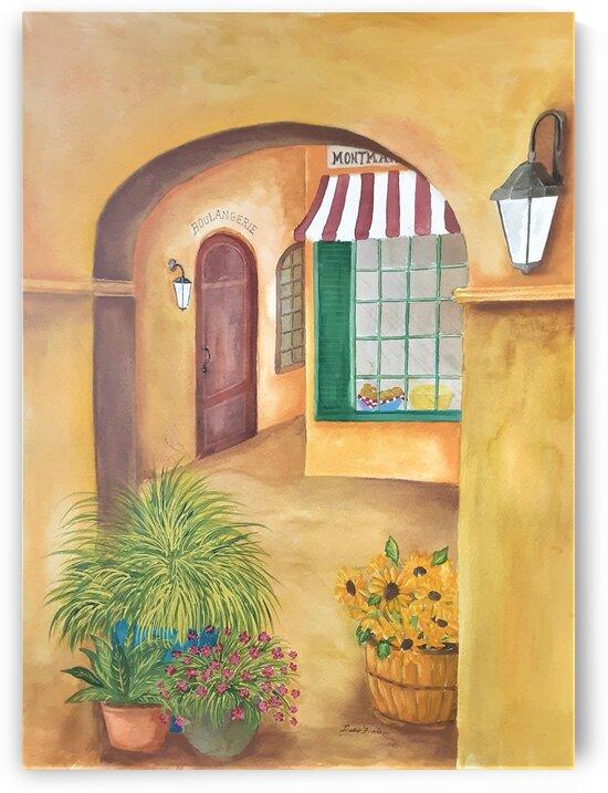 Boulangerie by Debbie L Fleck