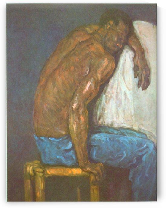 Negro by Cezanne by Cezanne