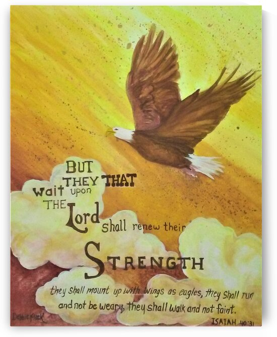 But They Wait Upon The Lord by Debbie L Fleck
