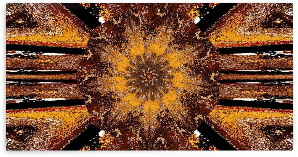 Tibetan Golden Lotus 2 by Sherrie Larch