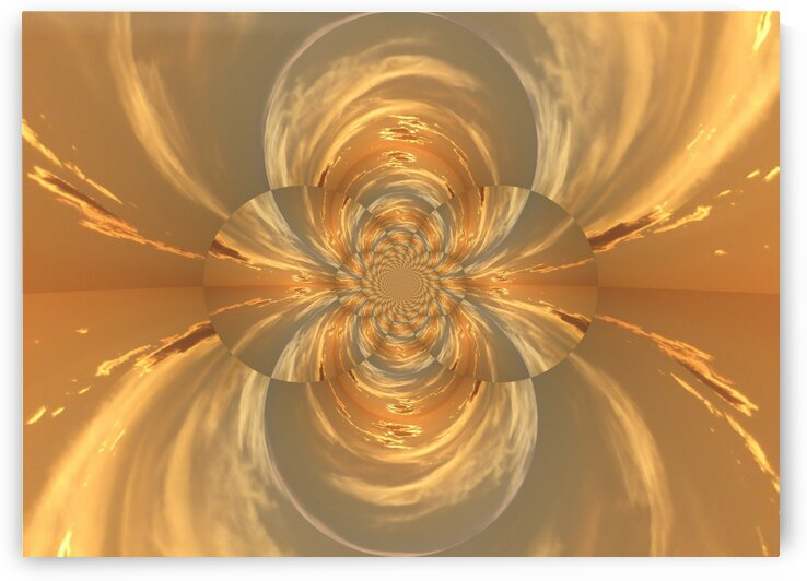 Golden Lotus  by Sherrie Larch