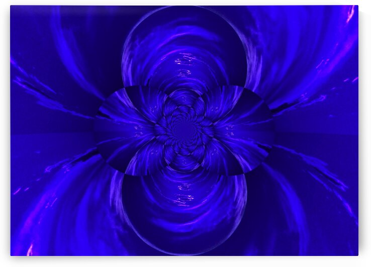 Sapphire Lotus by Sherrie Larch
