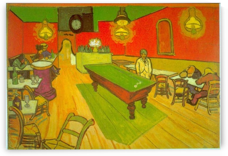 Night Cafe by Van Gogh by Van Gogh