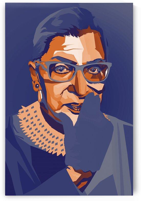 Ruth Bader Ginsburg RBG by Long Art