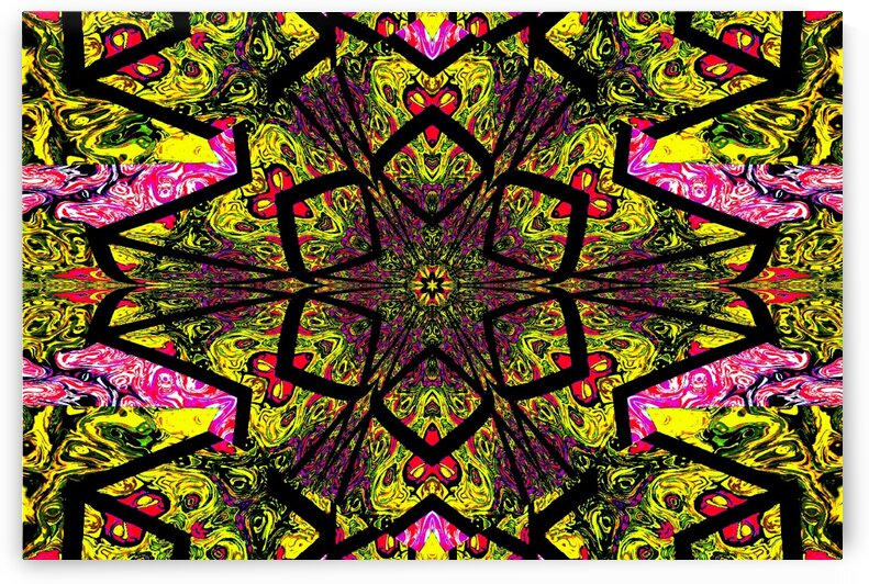 Tangled Lotus 5 by Sherrie Larch