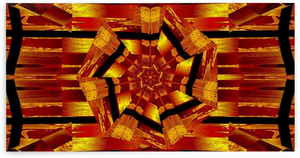 Lotus Made In Gold 7 by Sherrie Larch