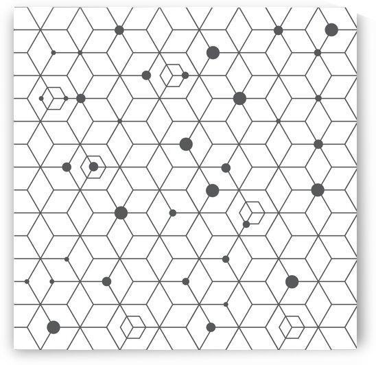 Hexagons  by Winston Mauricio Casco Sobalvarro