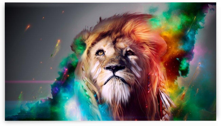 Lion by Coolbits Artworks