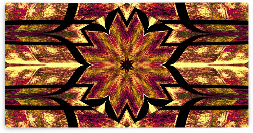 Lotus In Glow 12 by Sherrie Larch