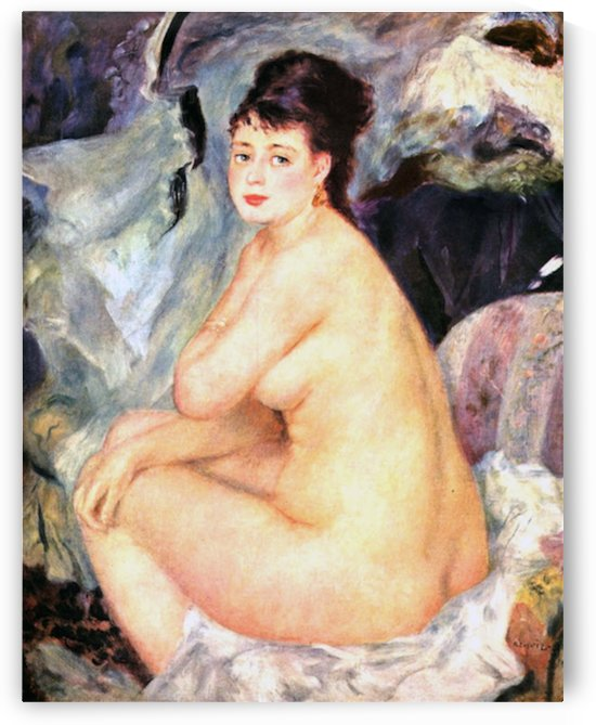 Nude female Anna by Renoir by Renoir