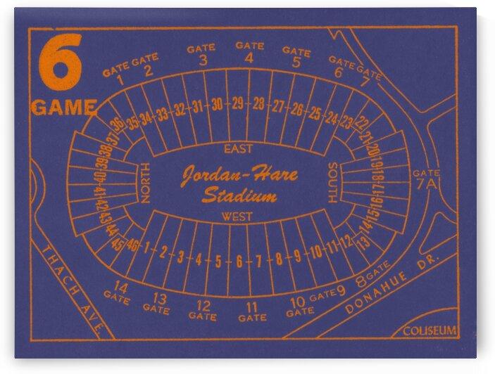 1979_College_Football_AuburnTigers_Jordan HareStadium_Map by Row One Brand