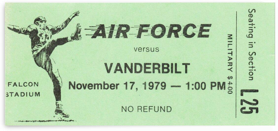 1979_College_Football_AirForcevs.Vanderbilt_FalconStadium by Row One Brand