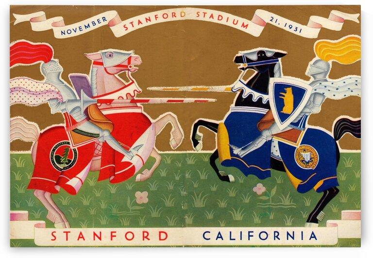 1931 Cal vs. Stanford Program by Row One Brand