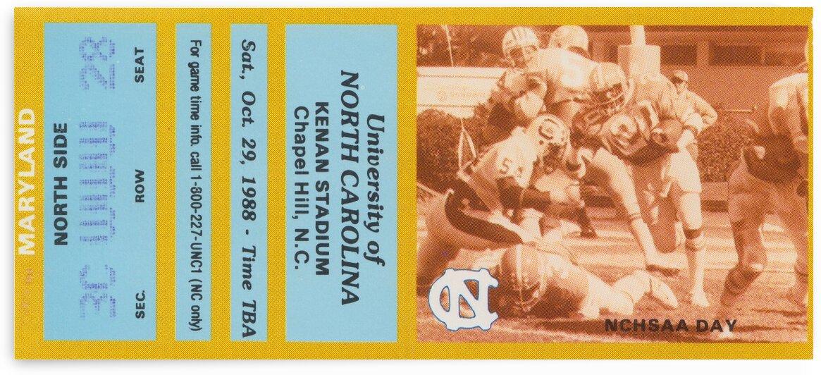 1988 Maryland vs. North Carolina by Row One Brand