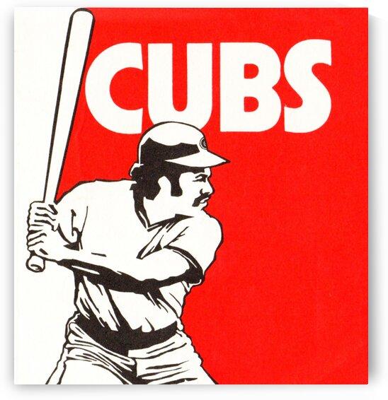 1977_MajorLeagueBaseball_ChicagoCubs 1  by Row One Brand