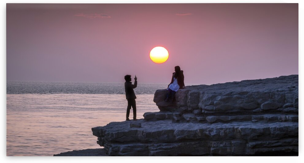 Photo opportunity at Nash Point by Leighton Collins
