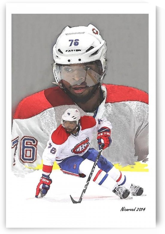 PK Subban artwork by Niceroad