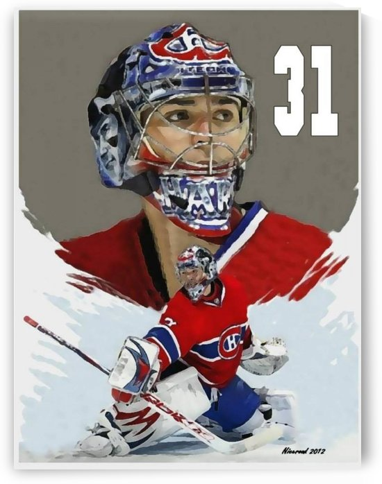 Carey Price portrait by Niceroad