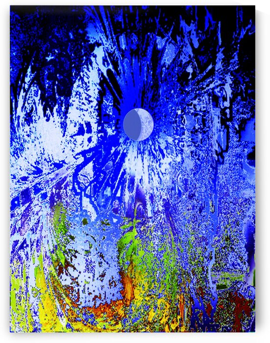 Blue Moon by Helmut Licht