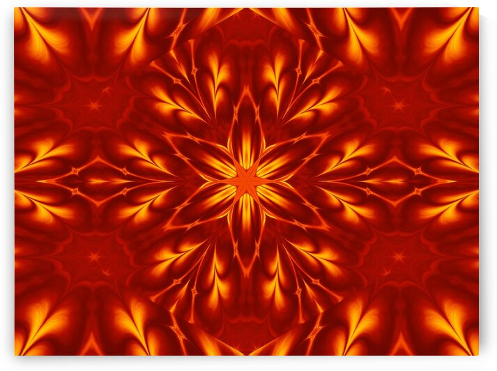 Fire Flowers 9 by Sherrie Larch