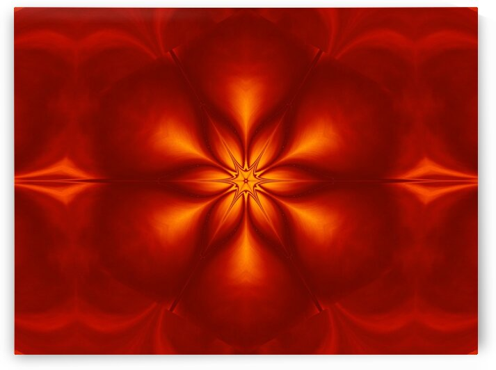 Fire Flowers 10 by Sherrie Larch