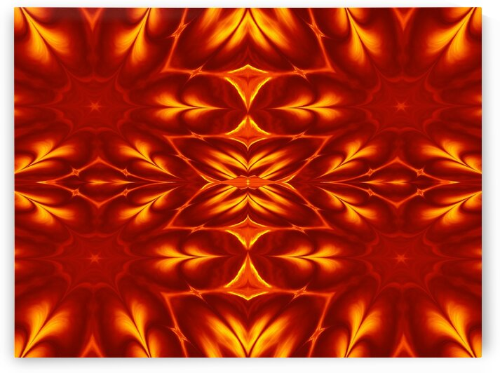 Fire Flowers 14 by Sherrie Larch