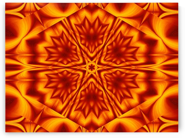 Fire Flowers 18 by Sherrie Larch