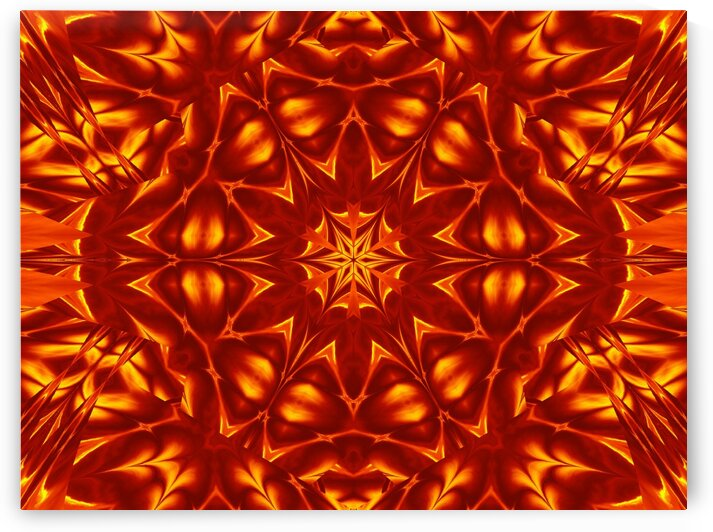 Fire Flowers 19 by Sherrie Larch