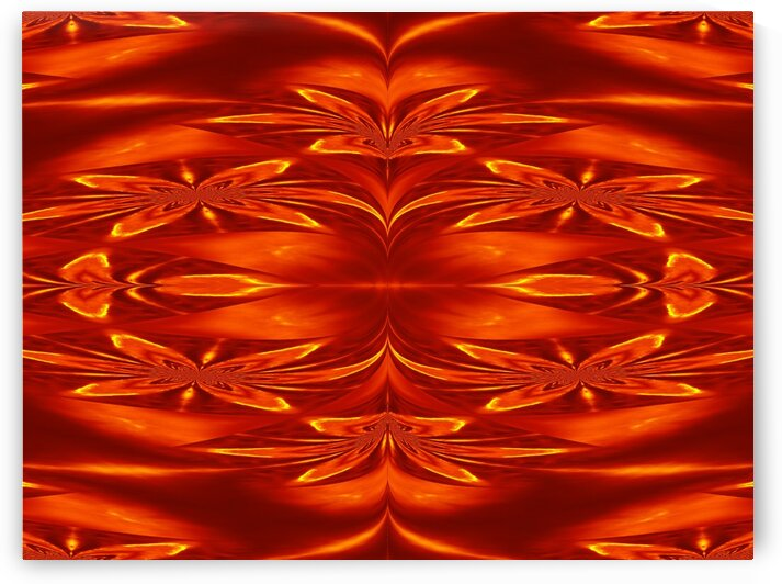 Fire Flowers 21 by Sherrie Larch