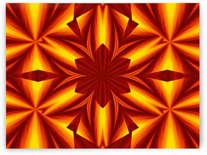 Fire Flowers 25 by Sherrie Larch