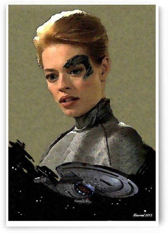 star trek voyager seven of nine by Niceroad